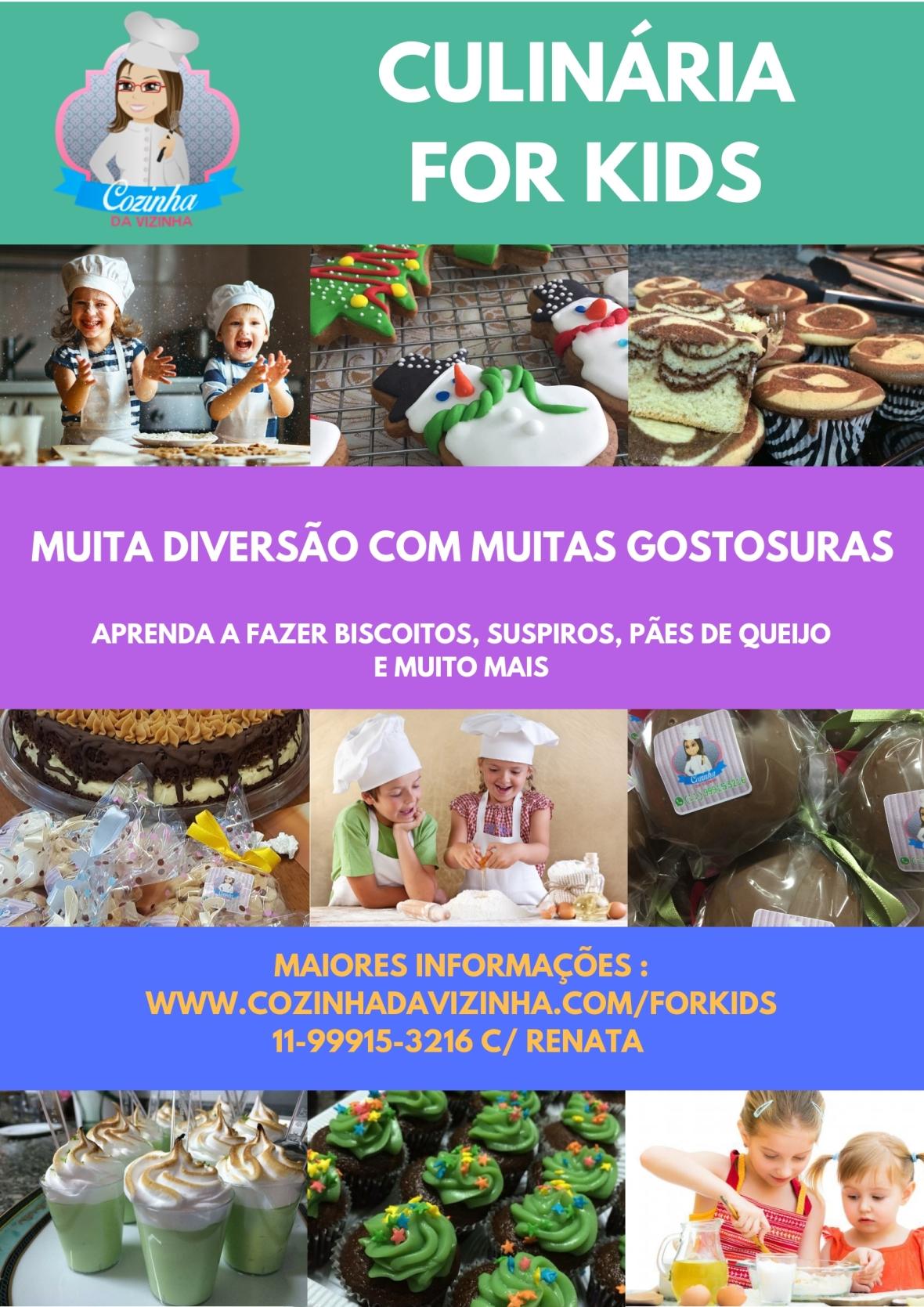 Folder Culinaria for Kids